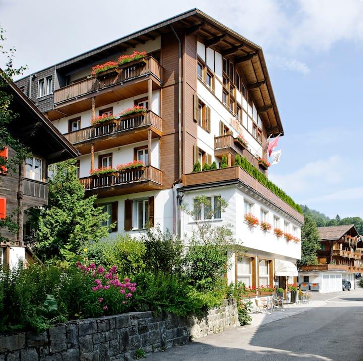 3 sterne-Superior-Hotel Zimmer in Adelboden