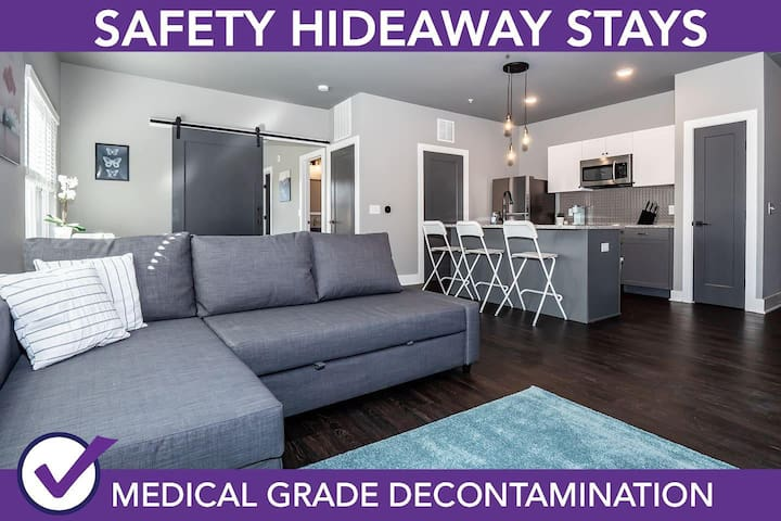 Safety Hideaway - Medical Grade Clean Home 25