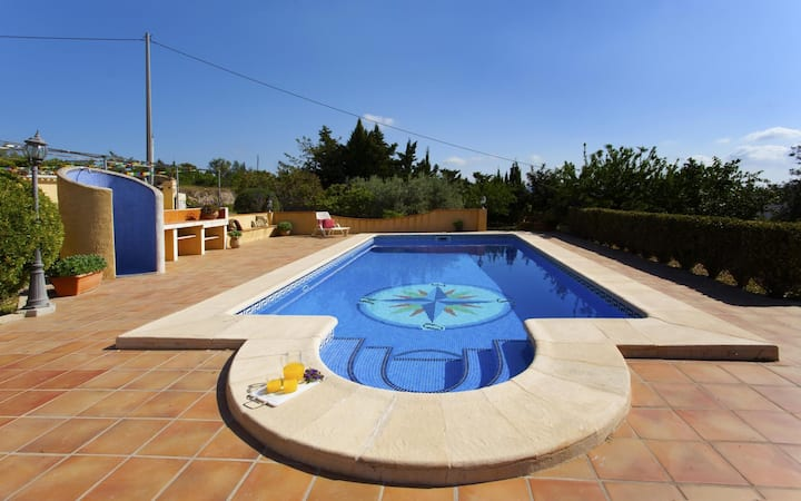 LUCIA - Villa for rent in the countryside for 10 people with private pool