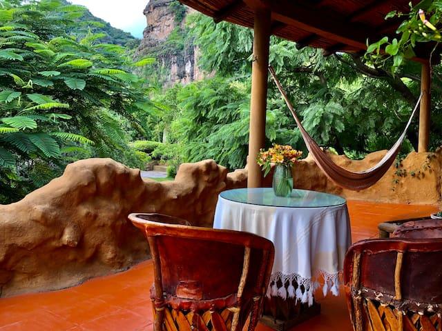 CASITA AIRE Hermosa casita, totalmente privada.