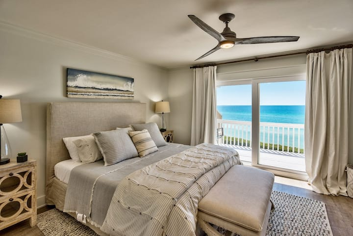 The Sea Suite at Seacrest~Gulf Front Perfection, Simply Paradise!