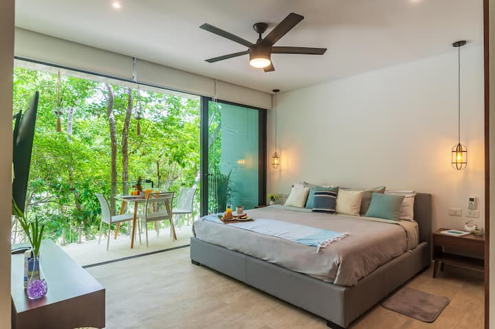 New Studio in Tulum! Gym and pool 360 °