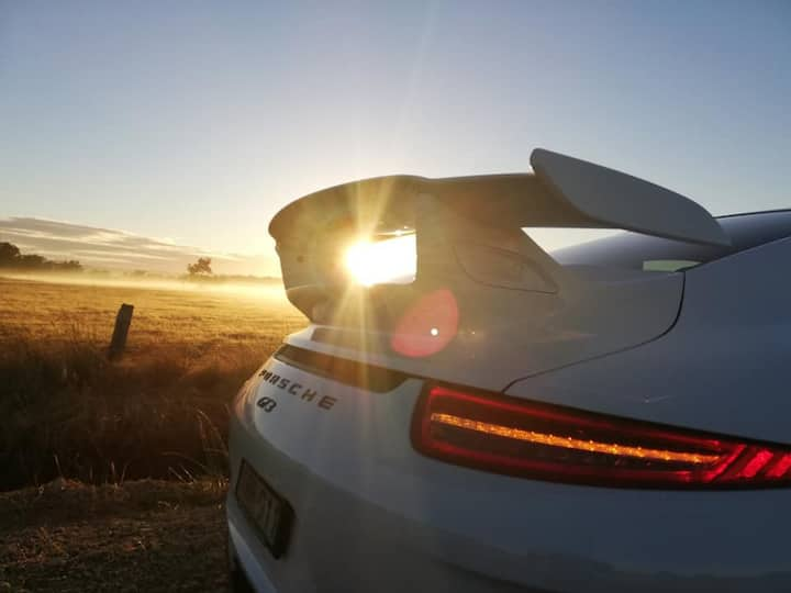 Sunrise Drives Exhilarating