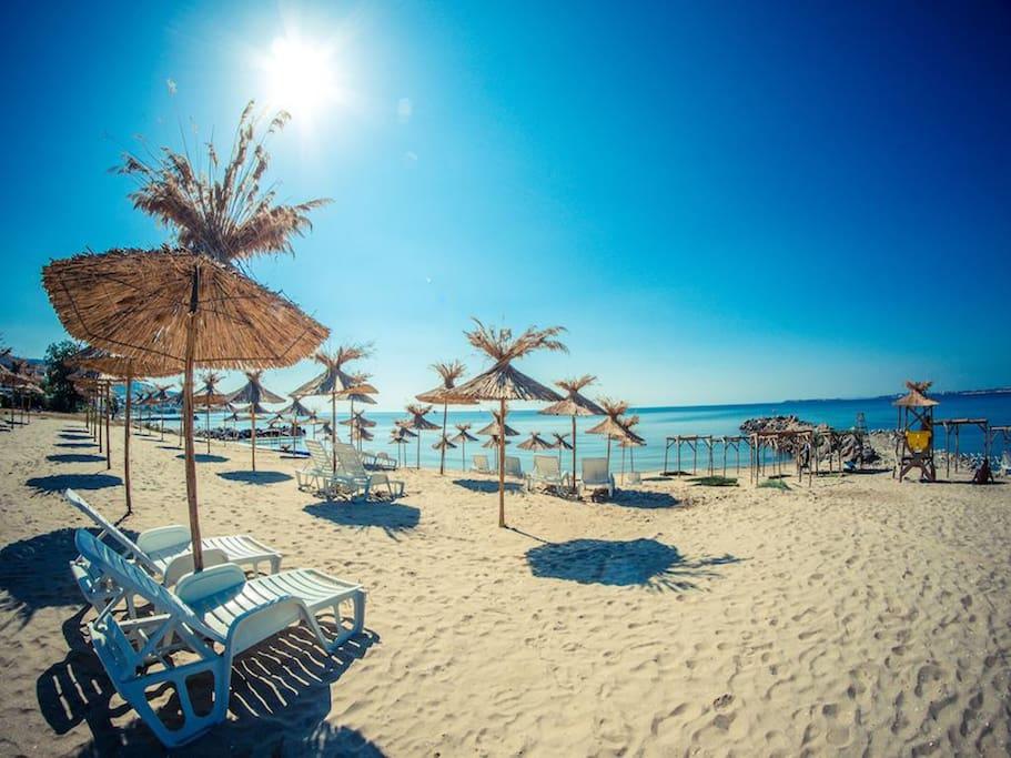 Пляж - 150м
