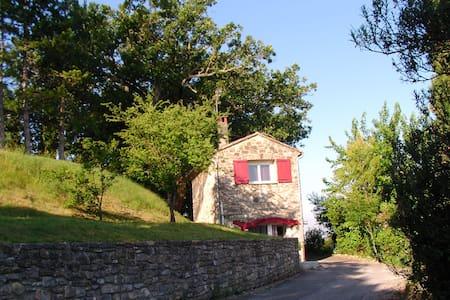 Gite, calme absolu, vue Cevennes - Vézénobres - Haus