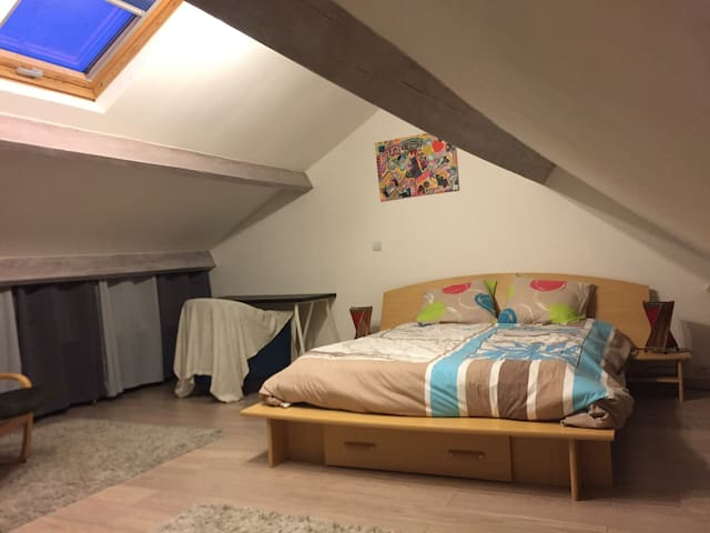 Chambre dans maison très calme