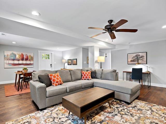 Elegant Weaverville Guest Suite on Longs Chapel