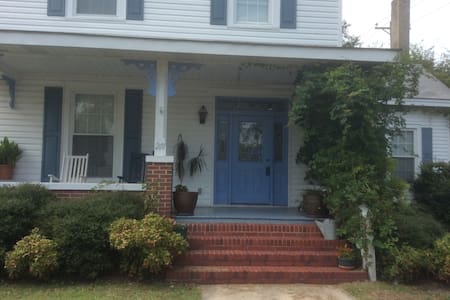 King bed/room in Laurinburg - Laurinburg - Maison