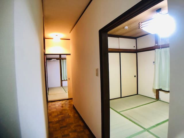 FF301/Quiet Japanese house/3mins from station/6ppl