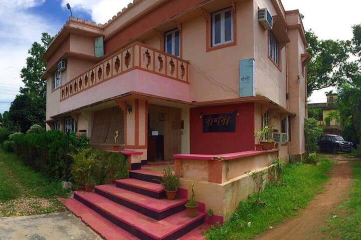 Banshori, Shantiniketan - Bolpur - Villa