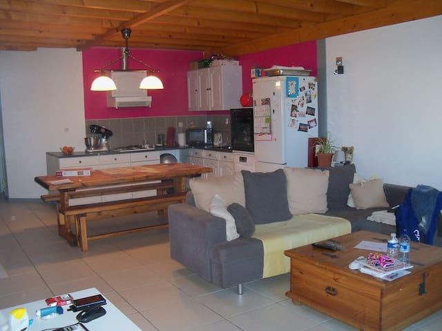 Charmant appartement avec jardin privé - Saint-Albin-de-Vaulserre - Appartement