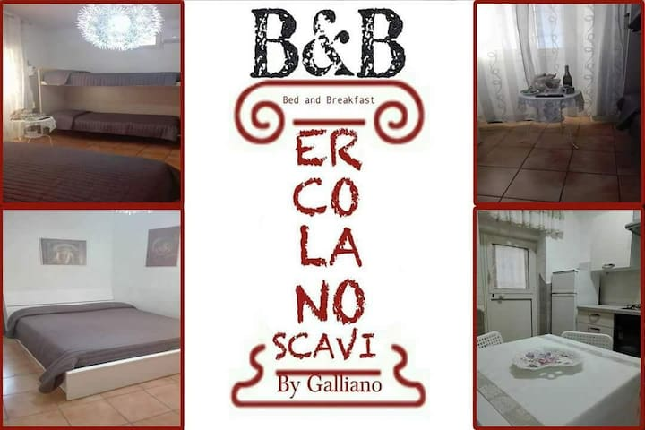 B&b ERCOLANO/scavi by Galliano