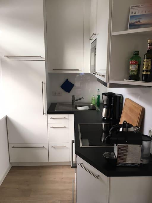 Küche - offen zum Essbereich