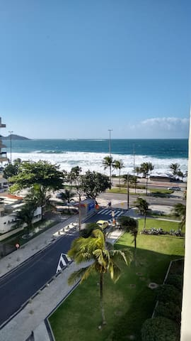 Flat frente ao mar Barra da Tijuca, Barra Palace