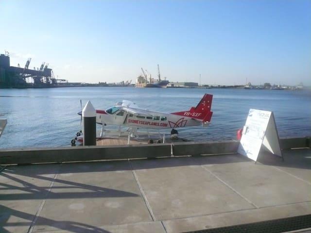 Arrive By Sea Plane