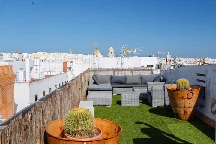 Ático Oasis - Big Terraces to Soak in the Sun