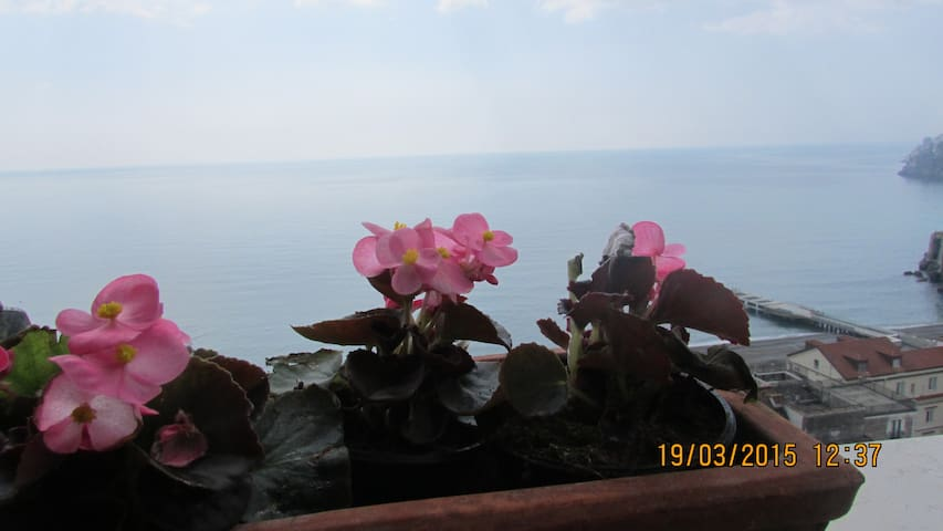 Gelsomino for 2 overlooking spectacular sea view