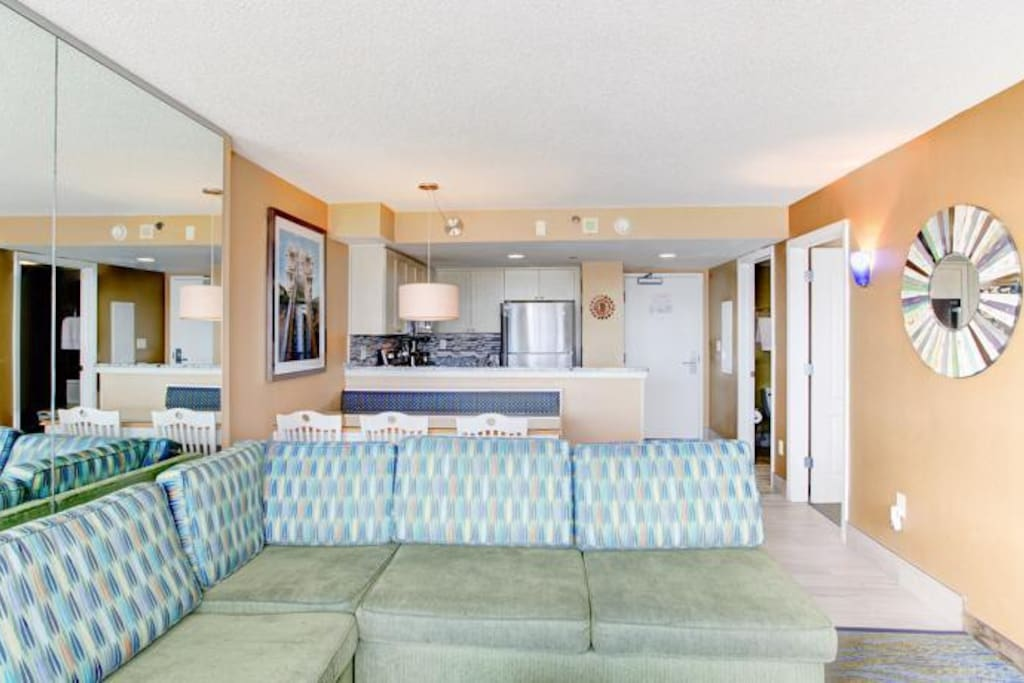 Boardwalk Resort And Villas 1 Bedroom Suite Serviced Apartments For Rent In Virginia Beach