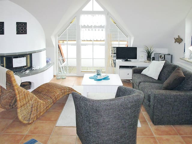 60 m² Holiday apartment in Norden for 4 persons in Norddeich / Norden - Norddeich / Norden - Apartamento