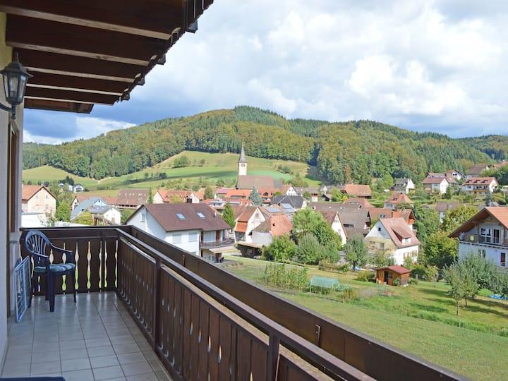 """Wanglerhof, (Schuttertal), Ferienwohnung """"Schwalbennest"""" 80qm, 2 Schlafzimmer, max. 6 Personen"""