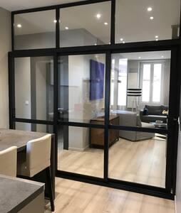 Cosy renovated 2BR, 3 min to Gare - Annemasse - Apartamento