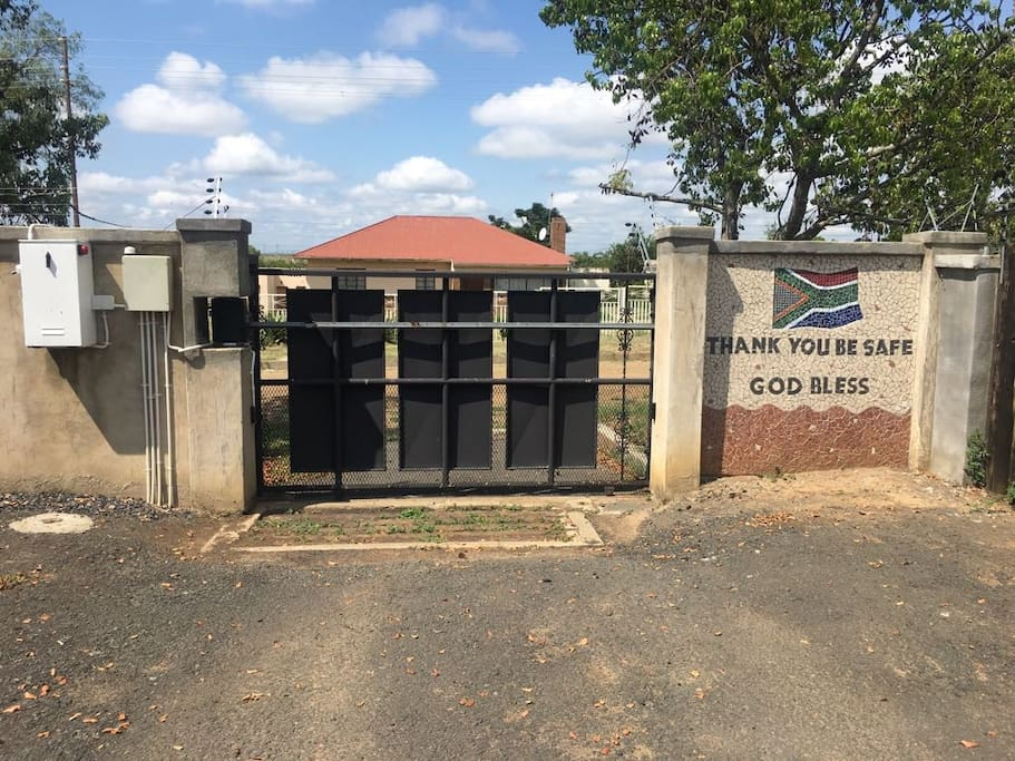 Secure parking and electric fence