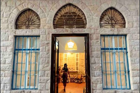 Lebanese house built in 1909 with an outdoor space