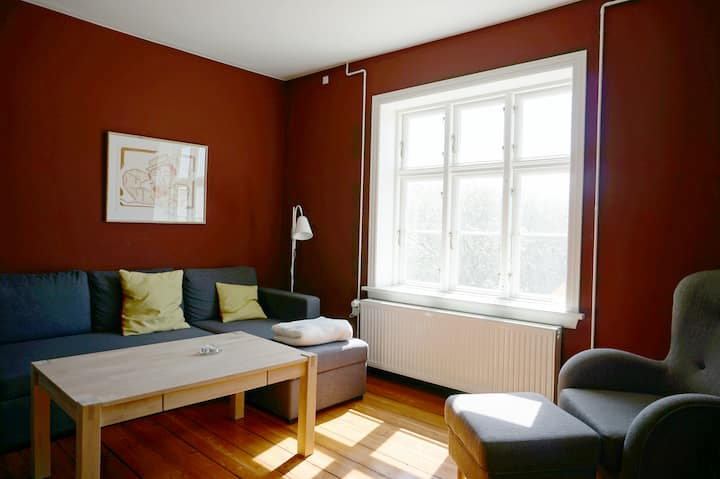 Lejligheden 'Jens Søndergaard' på Hanstholm Fyr