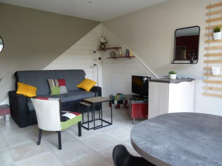Charmant T2 meublé rénové avec jardinet à Clisson