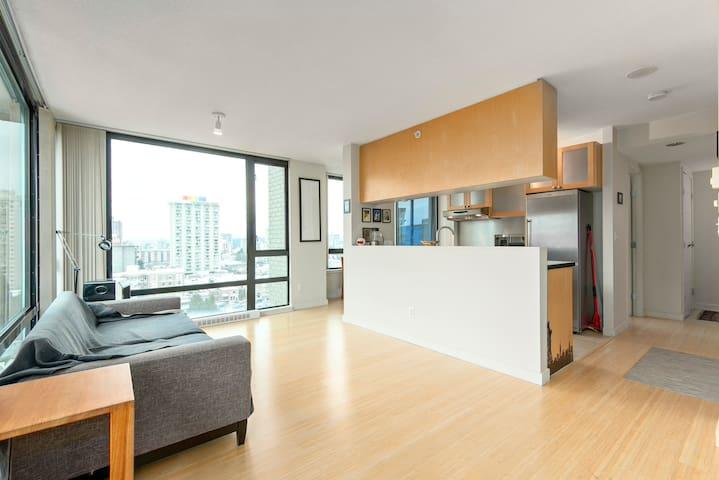 Beautiful Apartment near Davie St - Vancouver - Apartment
