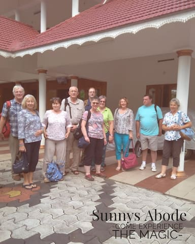 Our first guests from Germany