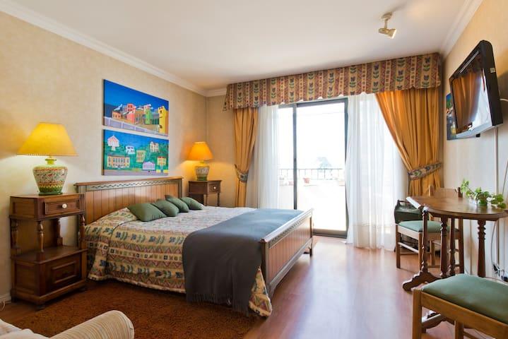 amplia habitación con  baño privado - Viña del Mar - Appartement