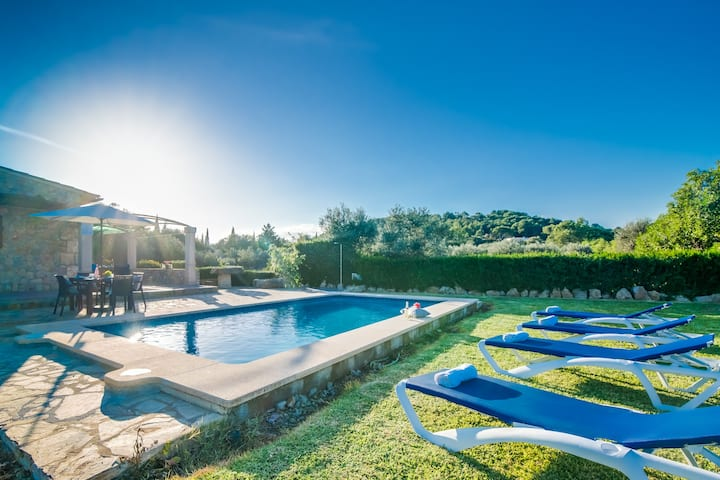 ☼Finca near the beach - Private pool and BBQ!