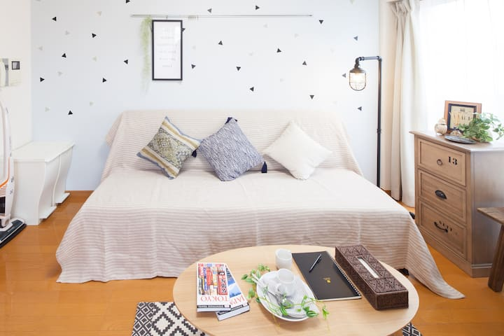 NewOpen! Near by Ueno Station!!!! - 文京区 - Apartamento
