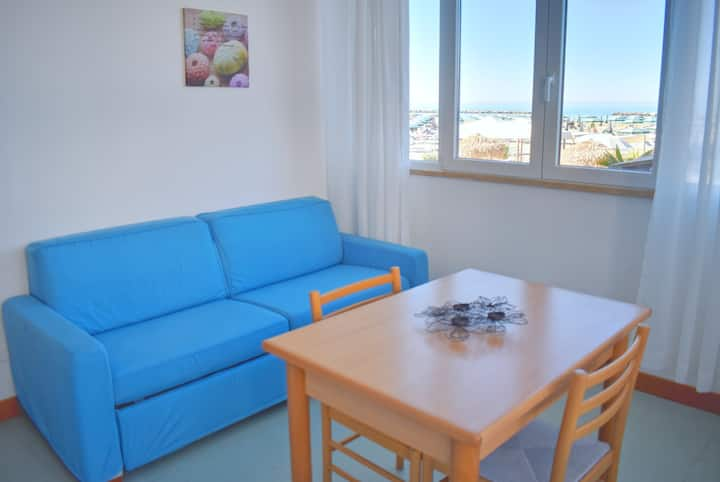 Apartment on the sand in Rimini