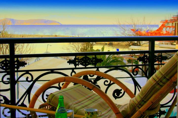 Sunny family maisonette in greek island -thassos-. - Limenas Thassos - Haus