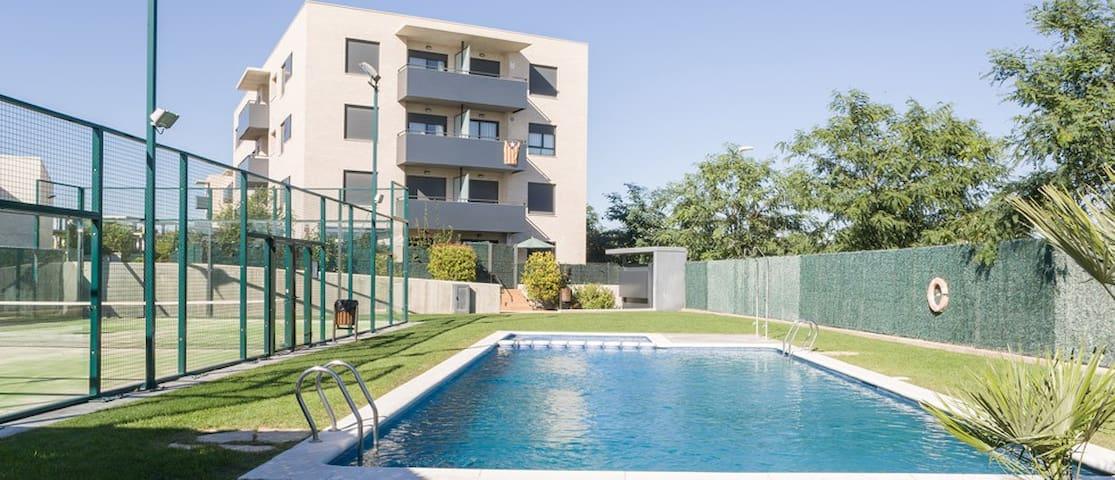 Appartement dans résidence de standing,proche mer - Torredembarra - Appartement en résidence