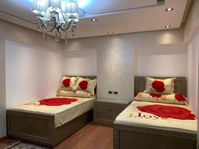 Bedroom # 4 , 2 Twin Beds.