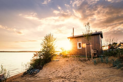 Zweiufer ( Tiny House ) am Hainer See