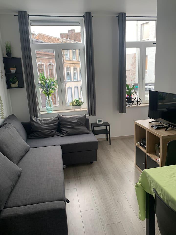 Beau petit duplex avec terrasse à Liège