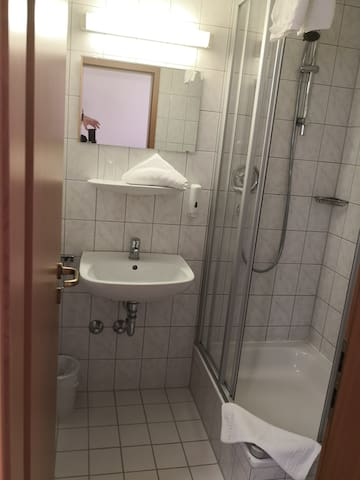Single room-Basic-Ensuite with Shower-City View-Dachgeschoss