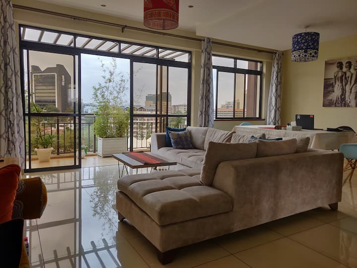 Ensuite Private Room in Penthouse in ❤️ Westlands