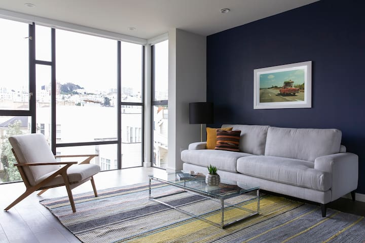 Sonder   Lombard Apartments   Ideal 1BR + Rooftop