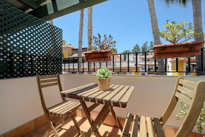 Nice apartment close to beach and golf