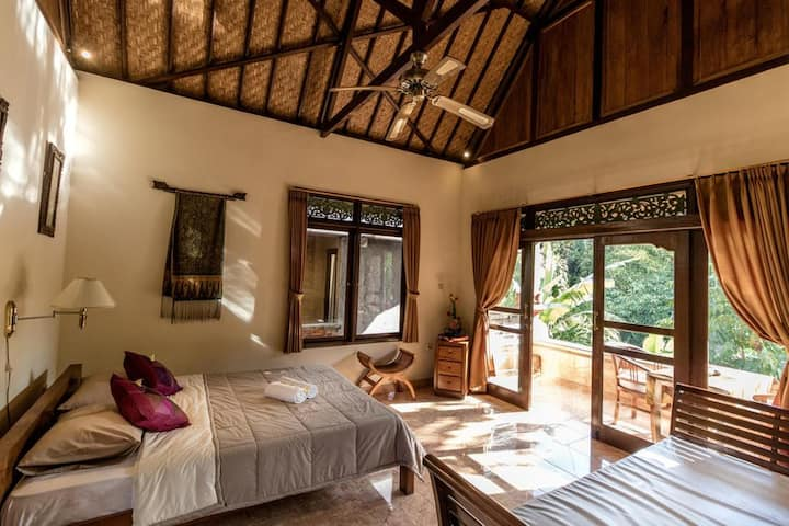 HOT DEAL!1BR Authentic Lodge in the Centre of Ubud