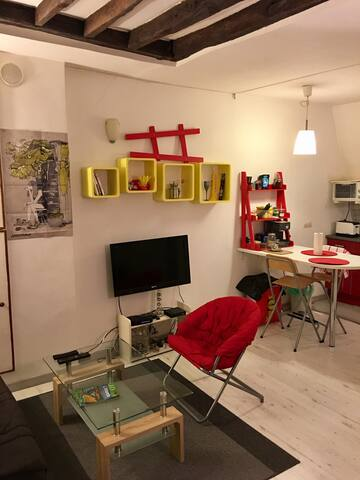 Charming 1 BR in the best Paris' area