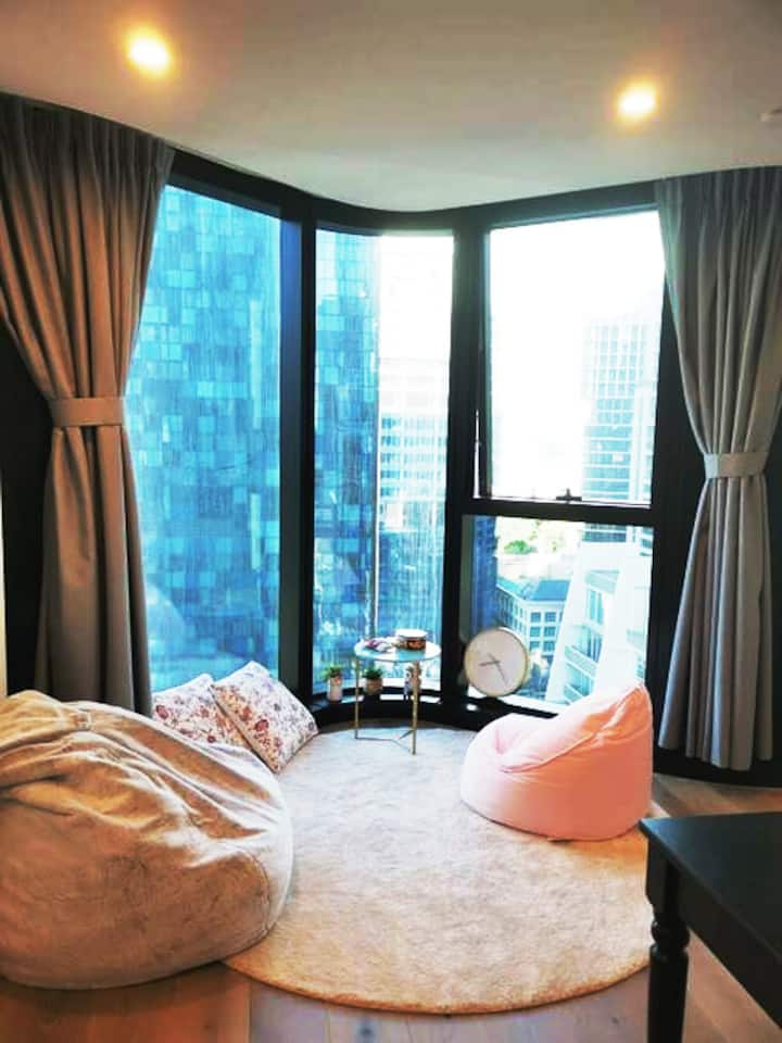 Lvl22 New Comfy Apt in CBD-Avail 4 LongTerm Stay