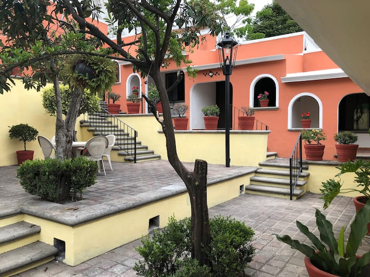 AntiguaPosada Triple - Cuernavaca, Morelos