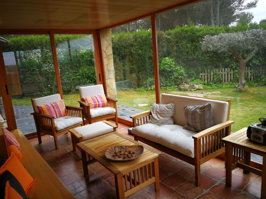Chill out! From the bedroom you go to the relaxation room, reading room, solarium.