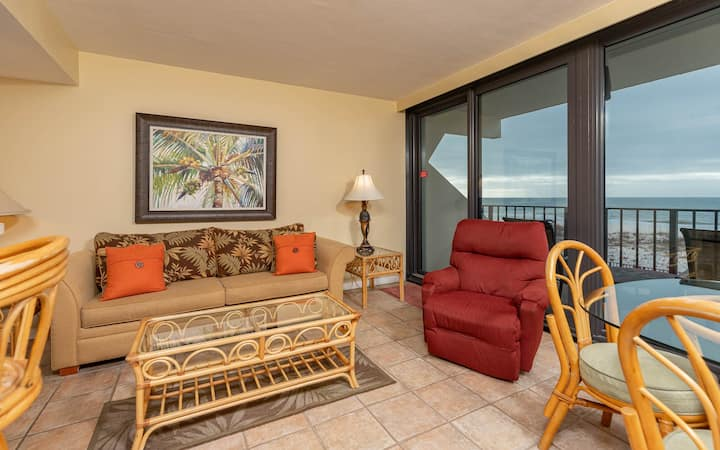 Gulf Front 1 Bedroom - Island Winds East 206